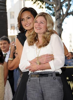 Mariska Hargitay Honored With Star On The Hollywood Walk Of Fame - Hollywood, Nov. 8, 2013
