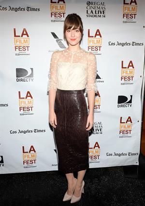 Mary Elizabeth Winstead 2013 Los Angeles Film Festival - Awards Brunch, June 23, 2013