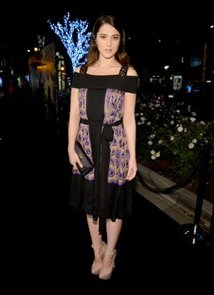 Mary Elizabeth Winstead Rodeo Drive Walk of Style Honoring BVLGARI, Dec 6, 2012