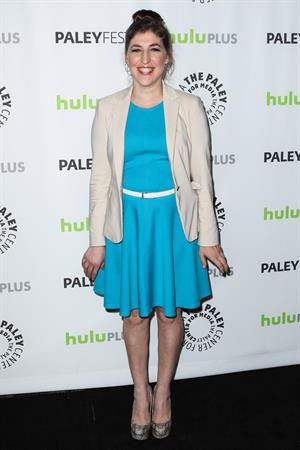 Mayim Bialik - 30th Annual PaleyFest -held at Saban Theatre in Beverly Hills on March 13, 2013