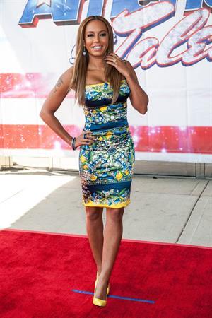 Melanie Brown 14 Attends American's Got Talent Season 8 Akoo Theatre Rosement Illinois 08.05.13