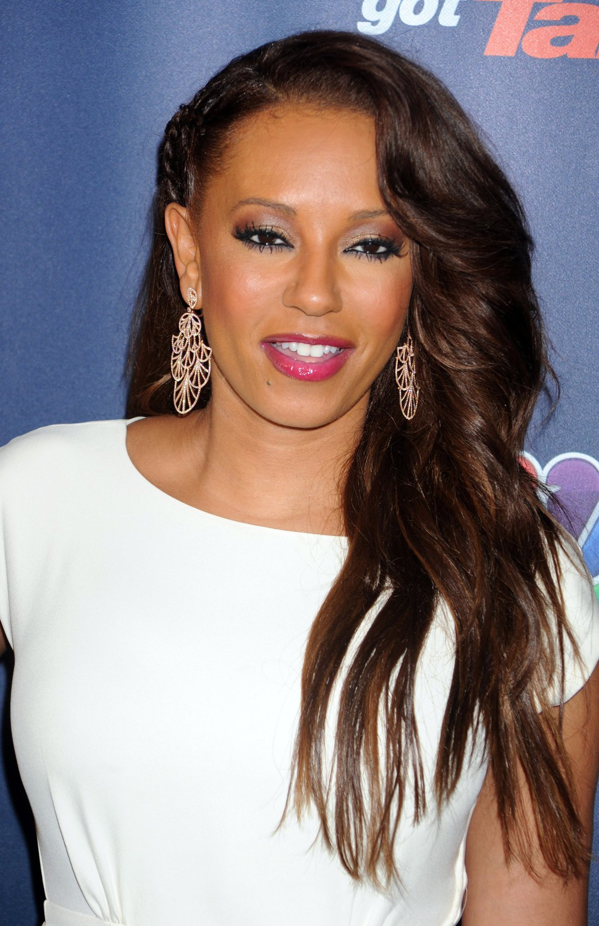 Melanie Brown Americas Got Talent Post Show Red Carpet At Radio City Music Hall In -7061