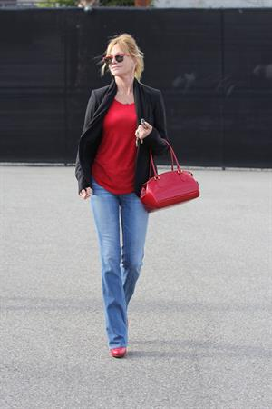 Melanie Griffith Leaving Mafield store in West Hollywood (May 8, 2013)