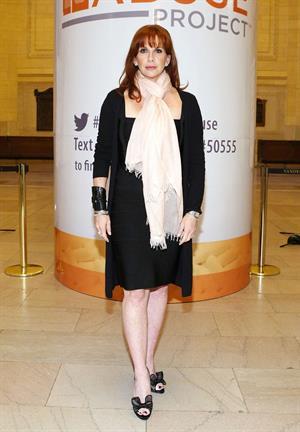 Melissa Gilbert Visits The New York Stock Echange (Sep 25, 2012)