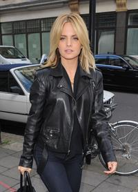 Mena Suvari outside the BBC Radio One studios October 4, 2012