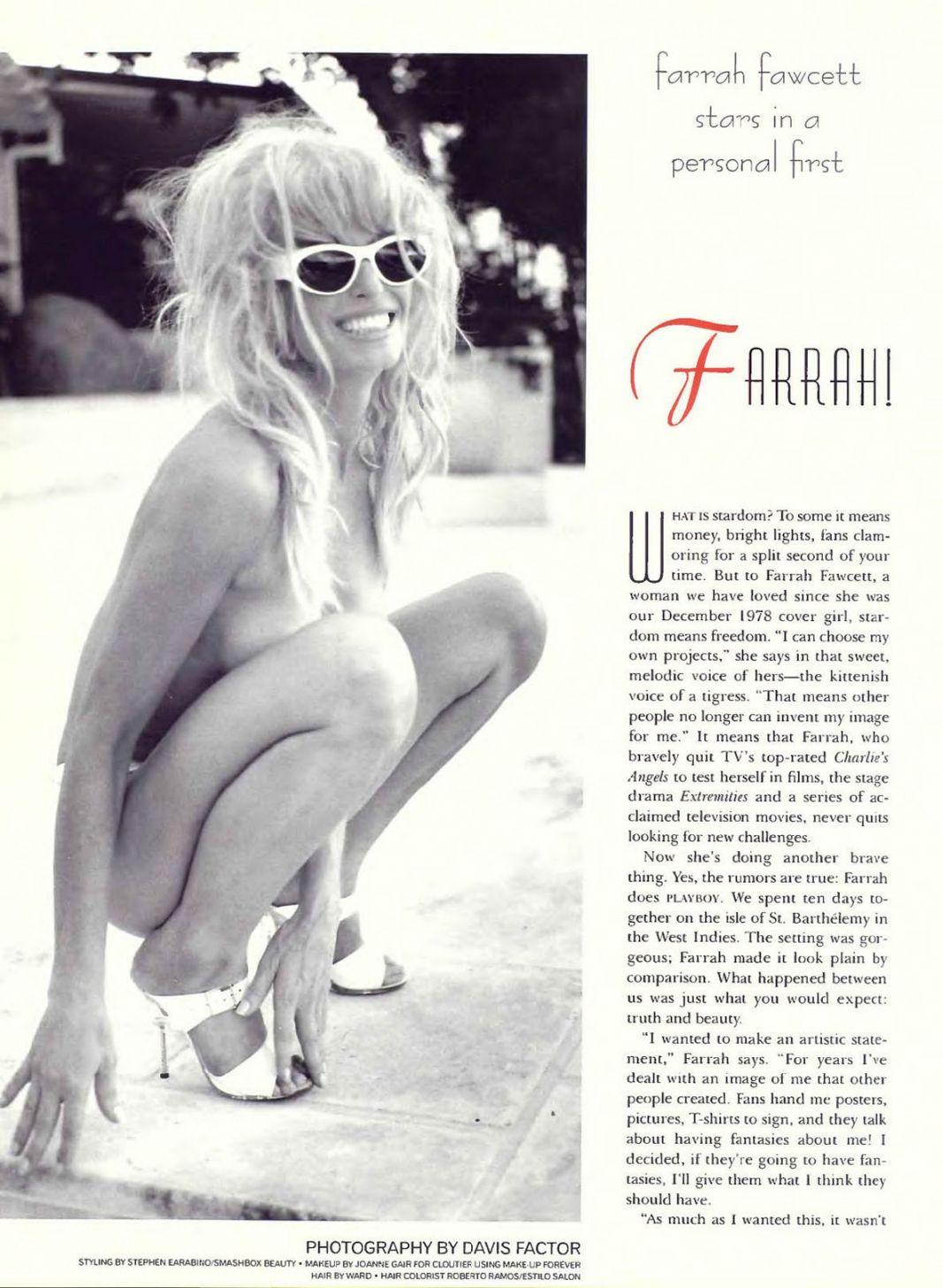 With Farrah facet nude