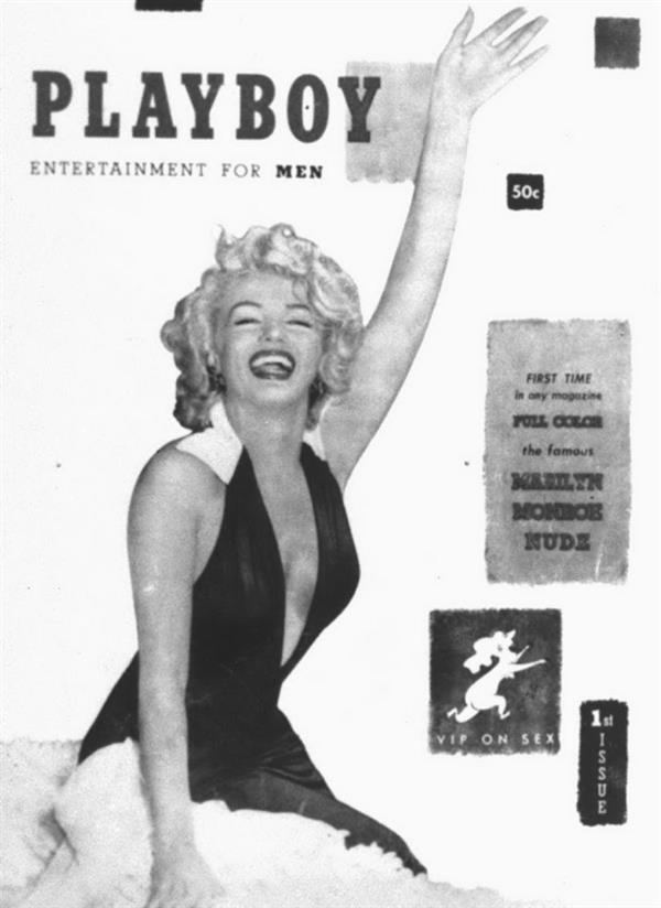 Marilyn Monroe 1953 Playboy cover