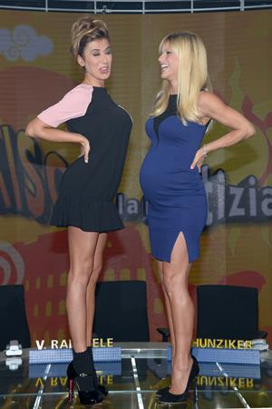 Michelle Hunziker Striscia la Notiza September 20, 2013