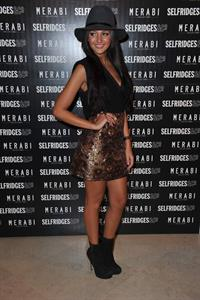 Michelle Keegan Merabi Launch - October 24, 2012