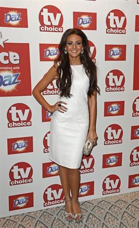 Michelle Keegan - TV Choice Awards in London - September 10, 2012