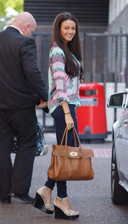 Michelle Keegan - Arriving at ITV Studios - September 6, 2012
