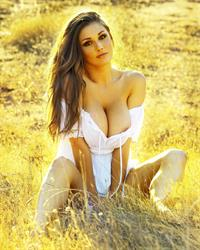 Lucy Pinder in lingerie - breasts