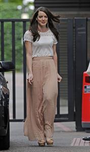 Michelle Ryan - Arriving at ITV Studios - August 21, 2012
