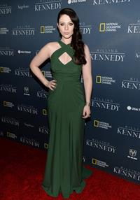"Michelle Trachtenberg ""Killing Kennedy"" Premiere in Beverly Hills, November 4, 2013"