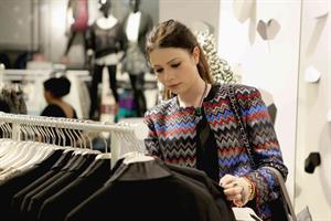 Michelle Trachtenberg H&M Isabel Marant VIP Shop Event in Hollywood, November 12, 2013