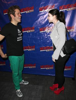 Michelle Trachtenberg - NEWSical The Musical' opening night in NYC - September 17, 2012