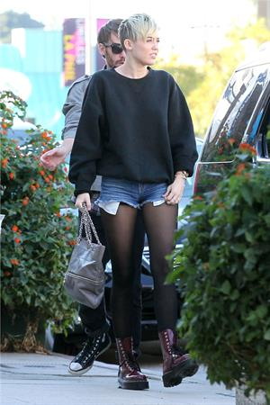 Miley Cyrus on some out and about in LA 11/11/12