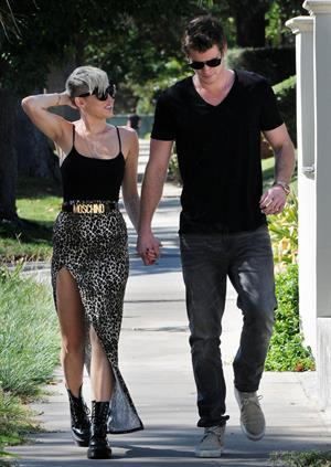 Miley Cyrus out and about in Studio City 10/19/12