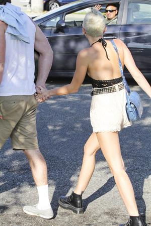 Miley Cyrus out and about in Santa Monica 9/29/12