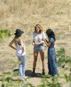 Miley Cyrus - Photoshoot In Malibu, June 6, 2012