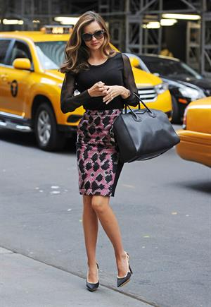 Miranda Kerr Running errands in New York (November 19, 2012)