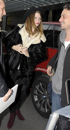 Mischa Barton At her Hotel in Berlin - October 26, 2012
