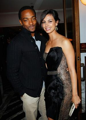 Morena Baccarin  HFPA & InStyle Miss Golden Globe Party in L.A.  November 29, 2012