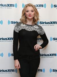 Natalie Dormer Visits SiriusM Studios in New York -- Oct. 23, 2013
