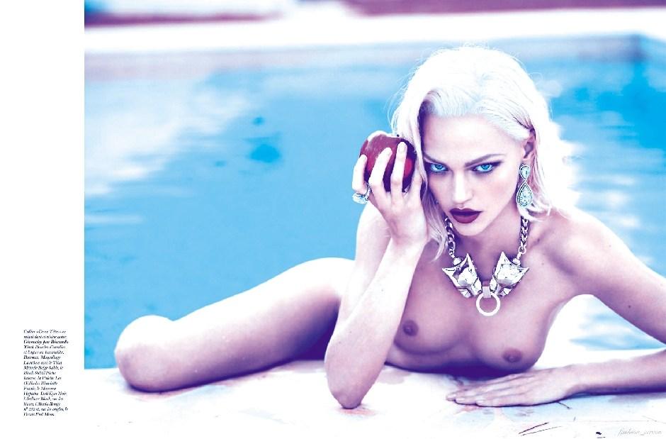 Sasha Pivovarova - breasts
