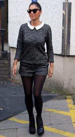 Nicole Scherzinger - outside the London Studios October 4, 2012