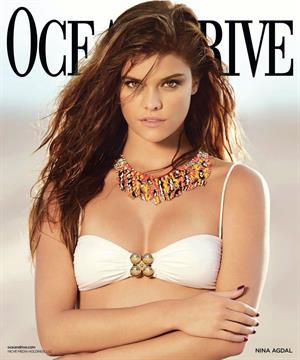 Nina Agdal Ocean Drive Magazine - November 2013