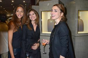 Noemie Lenoir 'Touessrok' by Maison Poiray Limited Edition Jewellery Launch Cocktail in Paris (Sep 20, 2012)