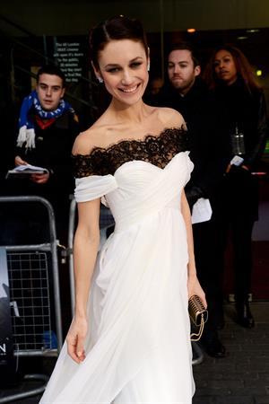 Olga Kurylenko  Oblivion  UK Premiere -- London, Apr. 4, 2013