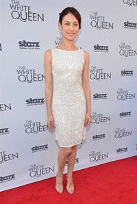 Olga Kurylenko launch of the Starz original Series 'The White Queen' in L.A. - July 25,2013