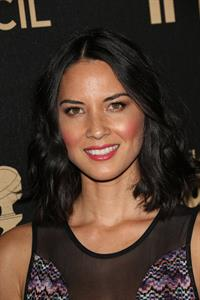 Olivia Munn HFPA And InStyle Celebrate The 2013 Golden Globe Awards Season, November 30, 2012