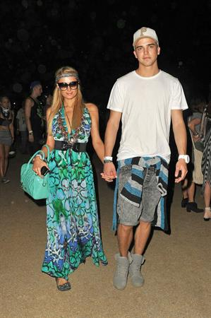 Paris Hilton Coachella Valley Music and Arts Festival - Week 2 Day 1 April 2013