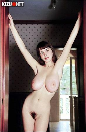 Stunning large natural boobs on thin body