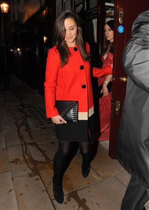 Pippa Middleton Leaving Loulou's nightclub in London - November 1, 2012