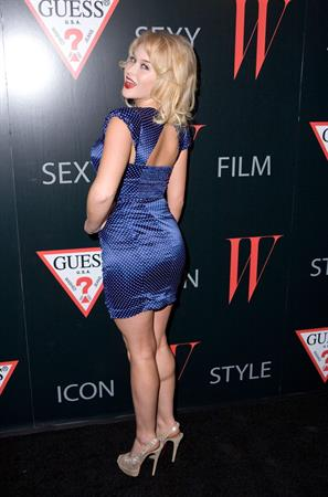 Renee Olstead W Magazine and Guess Celebrate 30 Years of Fashion & Film in Hollywood, January 8, 2013