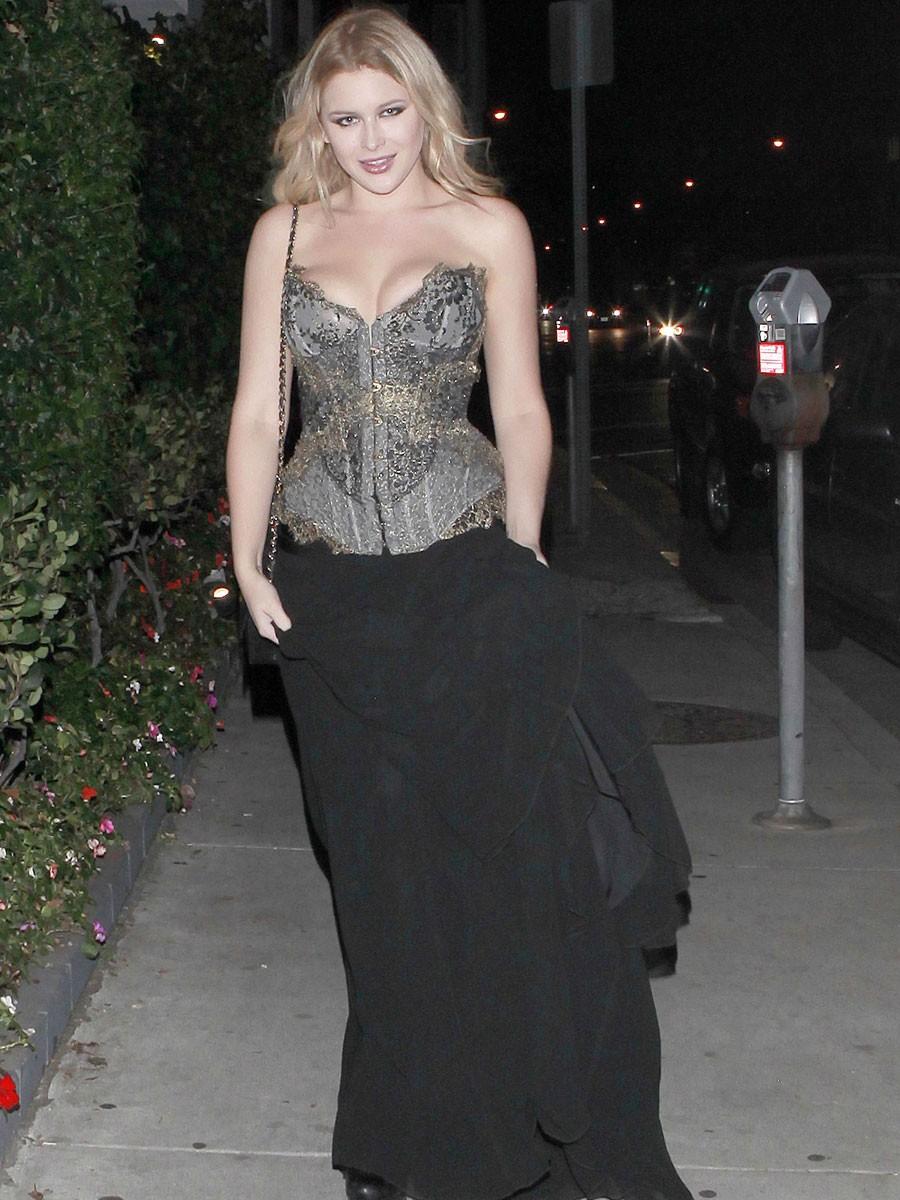 Renee Olstead - Candids At Dita Von Teese Collection Launch Party