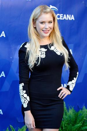 Renee Olstead arrives at 2012 Oceana's SeaChange Summer Party on July 29, 2012 in Laguna Beach, California