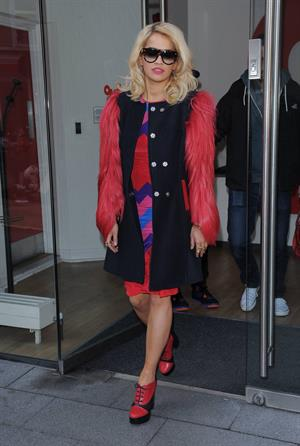 Rita Ora Leaving OMD Advertising Agency in London, England (November 5, 2012)