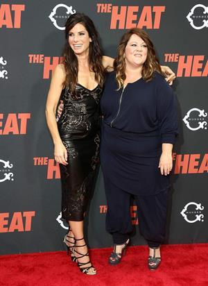 Sandra Bullock attends 'The Heat' New York Premiere at Ziegfeld Theatre in New York - June 23-2013