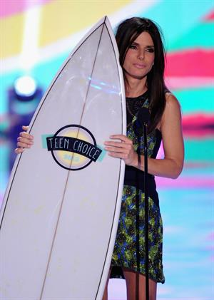 Sandra Bullock Teen Choice Awards at Gibson Amphitheatre in Universal City 11.08.13
