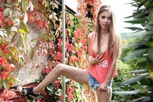 Mila in the Garden