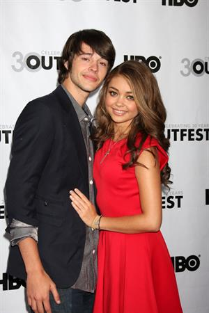 Sarah Hyland - 2012 Outfest Struck By Lightning Premiere in Los Angeles (July 22, 2012)