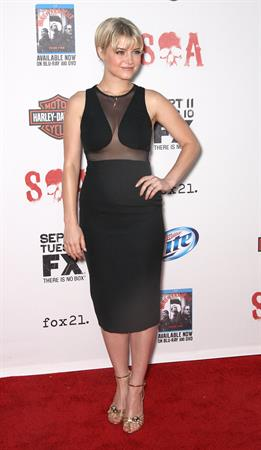 Sarah Jones  Sons of Anarchy  Season 5 Premiere Screening (September 8, 2012)