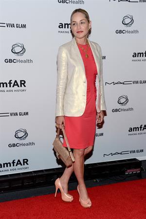 Sharon Stone - amfAR Aids Benefit and Concert at the John F.Kennedy Center Washington July 21, 2012