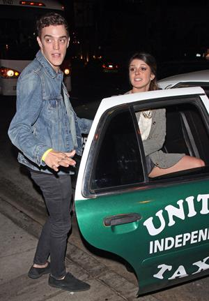 Shenae Grimes leaving Pink Taco in West Hollywood 9/29/2012