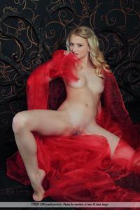 Sensual Adelia B spreads her legs